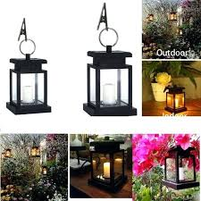 solar powered garden lantern waterproof