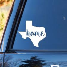 Texas Home Decal Texas Decal Homestate Decals Love Sticker Love Decal Car Decal Car Sti Silhouette Projects Personalized Vinyl Decal Vinyl Designs