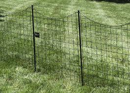black metal garden fence gate