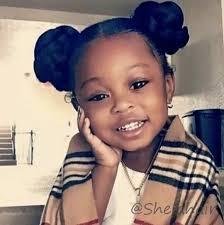 Cute girl! Little black kid | Little girl hairstyles, Cute black ...