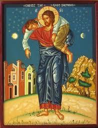 Icon of Jesus Christ the Good Shepherd | Arte de jesús, Imágenes ...