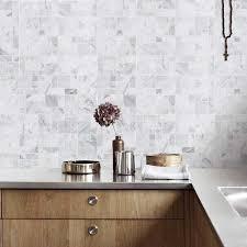 jazz white marble stone mosaic tile