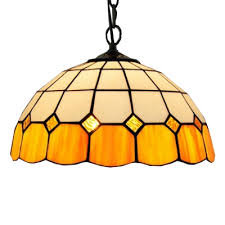 tiffany style ceiling light with 12 w
