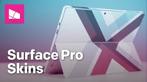 Surface Pro Skins From Decalgirl Youtube