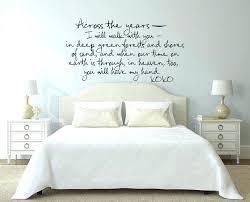 love romantic bedroom decor mural