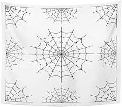emvency tapestry cartoon cobweb