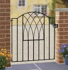 metal garden gate wrought iron gates