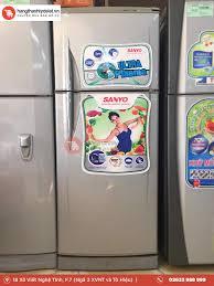 Tủ Lạnh Sanyo SR-18CN 158Lit – Hàng Thanh Lý Đà Lạt