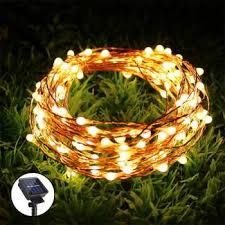 led string lights 10m 20m copper wire