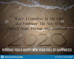 happy new year stock image image of quotes living