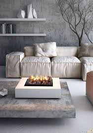 furniture indoor fire pit coffee table
