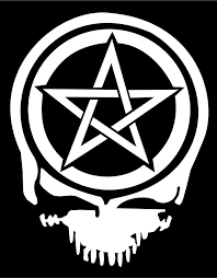 Vinyl Skull Decal With Pentacle Steal Your Face Car Truck Sticker Graphic Oracal Colonial Skull Decal Truck Stickers Vinyl Decal Stickers