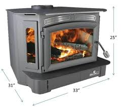 wood stove fireplace insert 128k btu