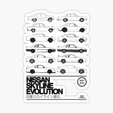 Nissan Prince Stickers Redbubble
