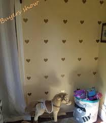 Metallic Gold Wall Stickers Heart Shaped Pattern Vinyl Wall Decals Nursery Art Decor Little Hearts Stickers Gold Wall Stickers Wall Stickervinyl Wall Decals Aliexpress