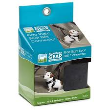 Guardian Gear Ride Right Seat Belt Connector Review Dog Carrier Dog Car Travel Dog Harness