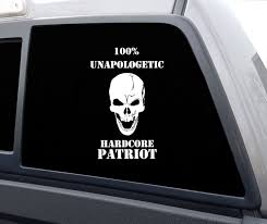 Unapologetic Vinyl Decal Sticker Hc Patriot