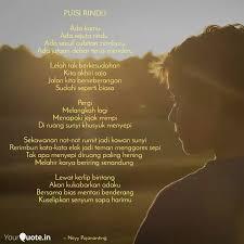 puisi rindu ada kamu ada quotes writings by neyy