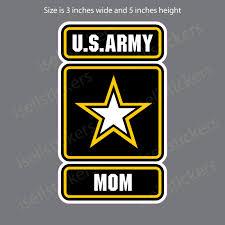 Army Mom Military Bumper Sticker Car Vinyl Window Decal