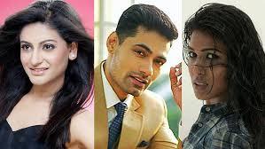 Shaily Priya Pandey, Meer Ali and Ashmita Jaggi in Aye Zindagi