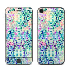 Iphone 7 Skin Pastel Triangle By Amy Sia Sticker Decal Ebay