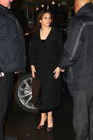 Felicity Jones Arrives for a Post SNL ...