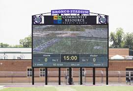 bronco stadium in dayton gets new video