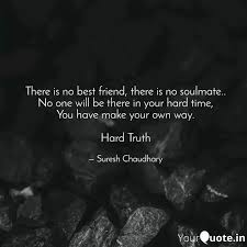 there is no best friend quotes writings by suresh