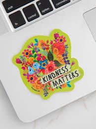 Kindness Matters Vinyl Sticker Natural Life