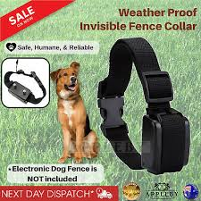 Electronic Dog Collar For Fencing Containment System Fence Boundary Waterproof 648676807648 Ebay