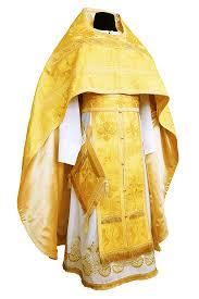 PRIEST VESTMENT YELLOW • buy | for sale >>> ORTHODOX