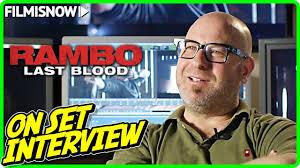 "RAMBO: LAST BLOOD | Adrian Grunberg ""Director"" On-set Interview ..."
