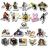 Amazon Com Jinx Overwatch Junkrat Car Window Die Cut Vinyl Decal Sticker Yellow 4 25 X4 Toys Games
