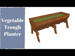 vegetable trug planter plans