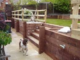 build a retaining wall from timber