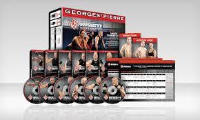 gsp rushfit fitness dvd set groupon goods