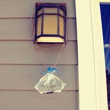 homemade fly repellent ziploc bag