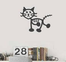 Cat Yeti Gift Vinyl Decal For Cars Walls Tumblers Cups Laptops Windows Ebay