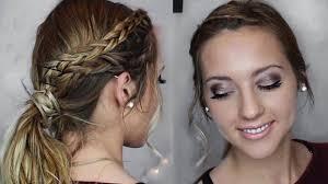 valentine s day makeup hair tutorial