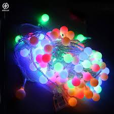 Đèn nháy trang trí bóng led tròn 5 mét 40 bóng