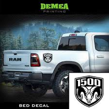 Amazon Com Ram 1500 2x Bed Truck Decal Sticker Clothing
