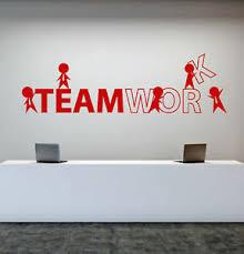 Vinyl Wall Decal Office Worker Style Teamwork Cartoon People Stickers 1757ig Ebay