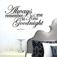 Shop Kiss Me Goodnight Wall Decal 22 Inch X 13 Inch On Sale Free Shipping On Orders Over 45 Overstock 10067025