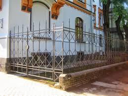 Metal Gates Fences Fence Stages Blacksmiths Workshop