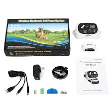 Jieyuan Wireless Electric Dog Fence Pet Containment System Up To 900 Feet For Sale Online Ebay