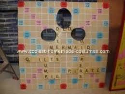 scrabble game costumes