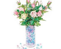pink acrylic ice rock vase gems best