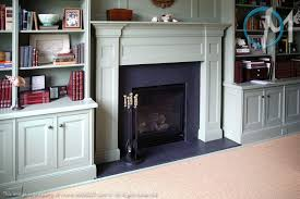 fireplace uses absolute black honed