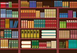 Image result for bookshelves clipart