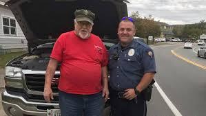 Gorham police officer recognized for helping Vietnam veterans